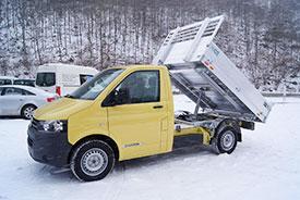 Kipperaufbau-VW-Transporter