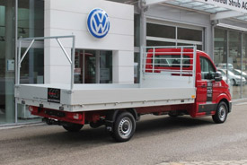 VW Crafter Chassi-Kabine Radstand 4490 mm