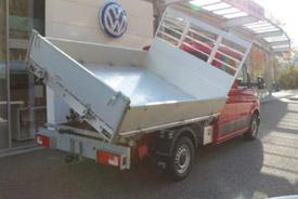 VW Crafter DK mit Dreiseiten-Kipper