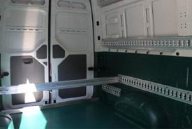 VW Crafter Kastenwagen mit spezial Innenboden